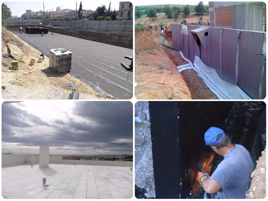 Waterproofing and insulation applications
